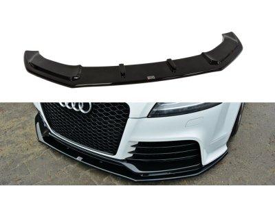 Накладка сплиттер на передний бампер от Maxton Design для Audi TT RS 8J