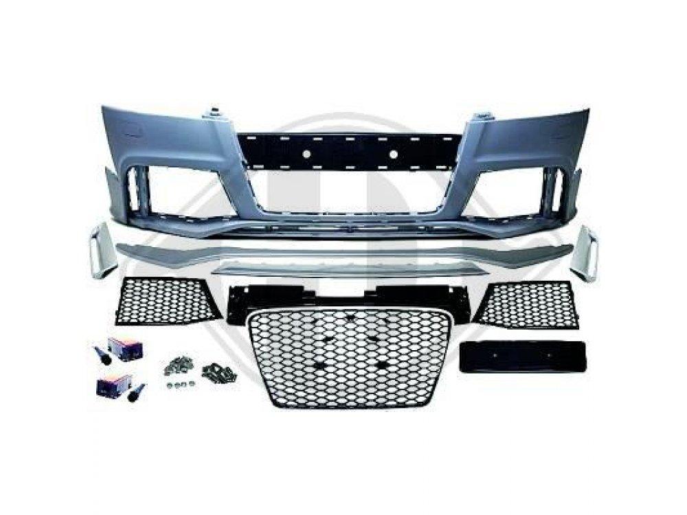 Бампер передний в стиле RS от HD для Audi TT 8J