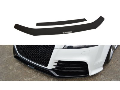 Накладка на передний бампер Var2 от Maxton Design для Audi TT RS 8J