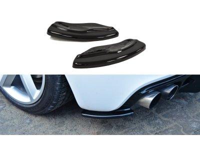 Накладки на задний бампер боковые от Maxton Design для Audi TT RS 8J