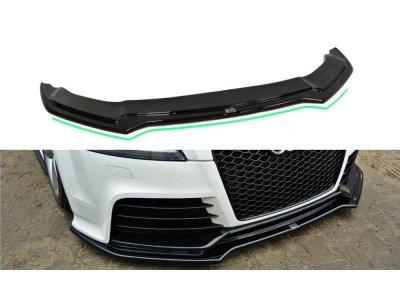 Накладка на передний бампер V3 от Maxton Design для Audi TT RS 8J