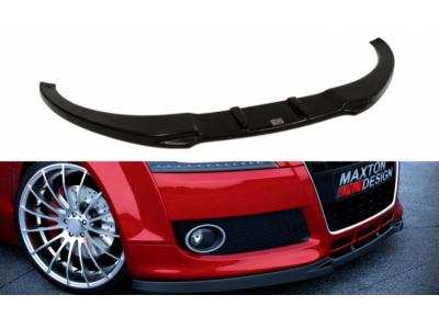 Накладка на передний бампер от Maxton Design для Audi TT 8J