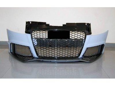Бампер передний Carbon в стиле RS от Eurolineas на Audi TT 8J
