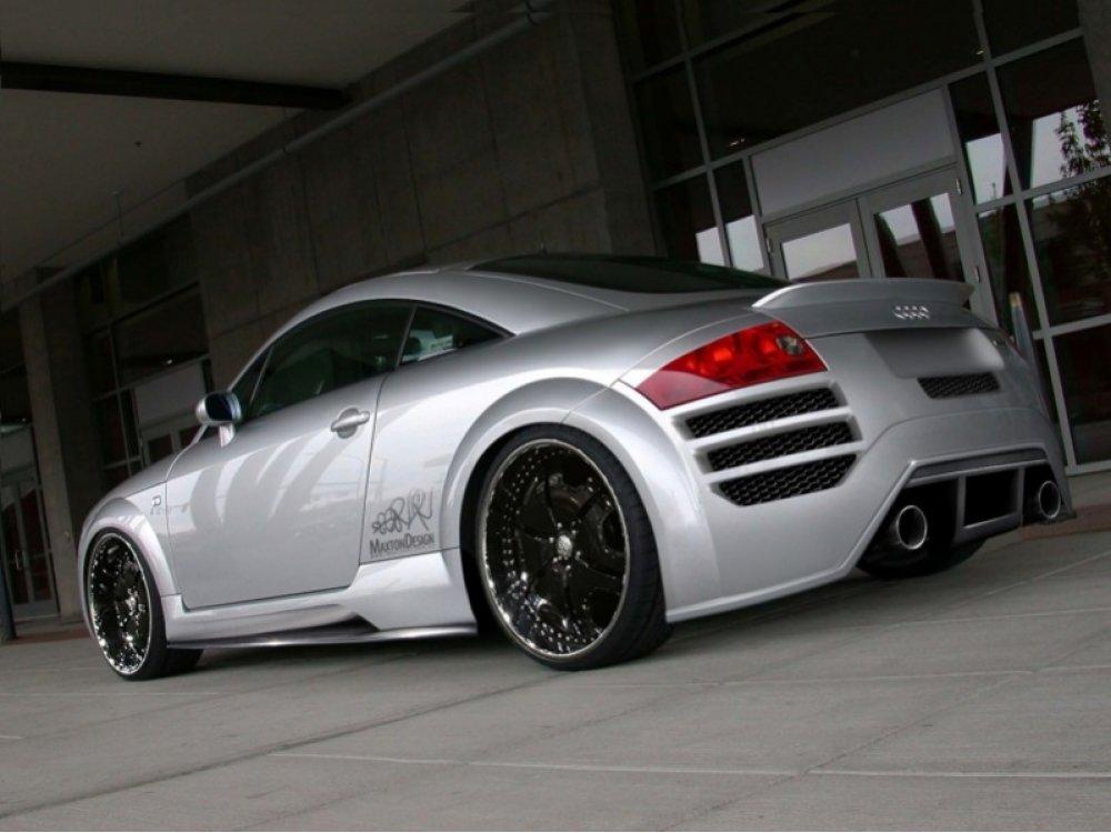 Бампер задний R8 Style от Maxton Design на Audi TT 8N