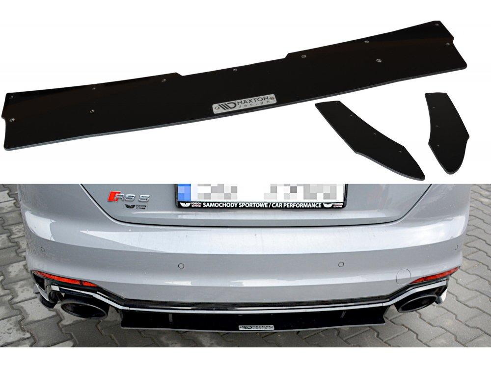 Диффузор заднего бампера Maxton Design для Audi RS5 B9