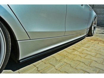 Накладки на пороги от Maxton Design для BMW 1 E87
