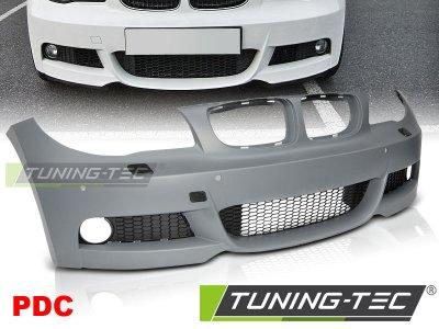 Бампер передний M-Tech Look от Tuning-Tec для BMW 1 E81 / E82 / E87 / E88 рестайл