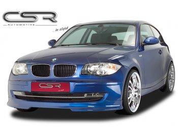 Накладка на передний бампер от CSR Automotive на BMW 1 E87 Hatchback рестайл