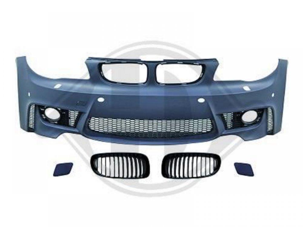 Бампер передний стиль Evo M для BMW 1 E81 / E82 / E87