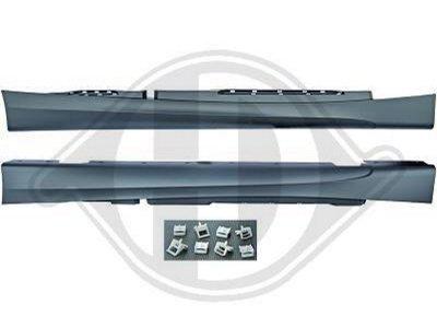 Накладки порогов в стиле M-Tech для BMW 1 E87