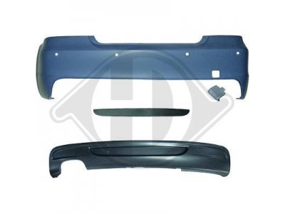 Бампер задний в стиле M-Tech от HD для BMW 1 E82 / E88