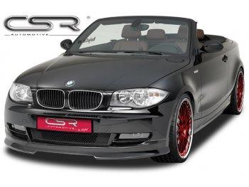 Накладка на передний бампер от CSR Automotive на BMW 1 E82 / E88 Coupe / Cabrio