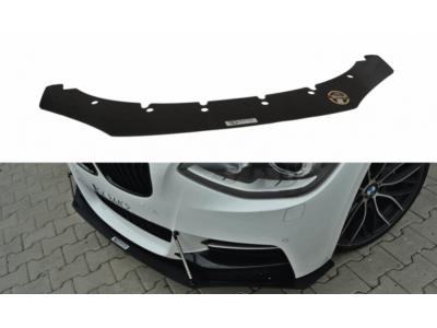 Накладка на передний бампер Var2 от Maxton Design на BMW 1 F20 M-Power