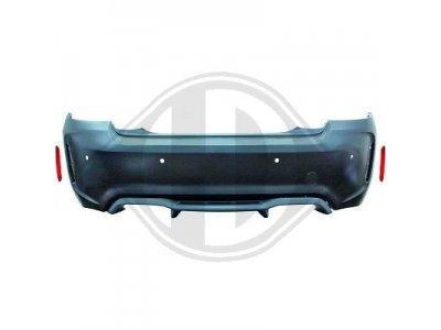 Бампер задний в стиле M2 от HD под парктроники для BMW 2 F22 / F23