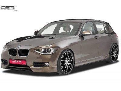 Накладка на передний бампер от CSR Automotive на BMW 1 F20 / F21