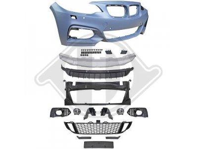 Бампер передний M235 Look от HD под парктроники для BMW 2 F22 / F23