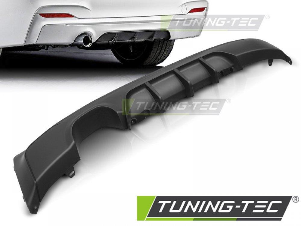 Диффузор заднего бампера M-Performance Look под 1 трубу от Tuning-Tec для BMW 2 F22 / F23