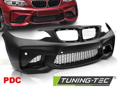 Бампер передний M2 Look от Tuning-Tec под парктроники для BMW 2 F22 / F23