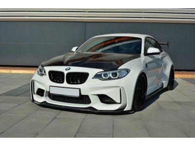 Комплект для расширения кузова от Maxton Design на BMW M2 F87