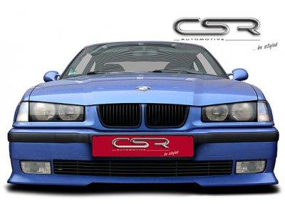 Накладка на передний бампер от CSR Automotive на BMW 3 E36