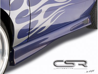 Накладки на пороги от CSR Automotive Var4 на BMW 3 E36