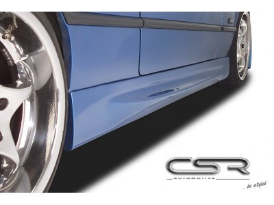 Накладки на пороги от CSR Automotive Var3 на BMW 3 E36