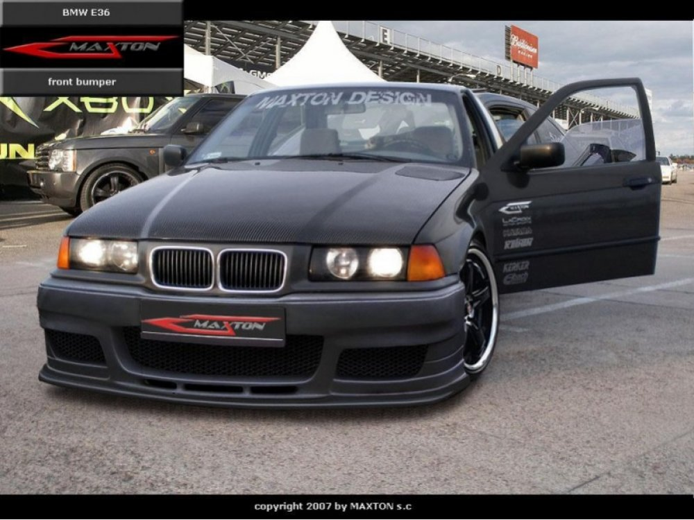 Бампер передний Mafia Style от Maxton Design на BMW 3 E36