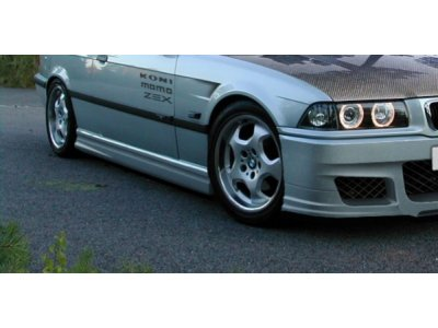 Накладки на пороги Mafia Style от Maxton Design для BMW 3 E36