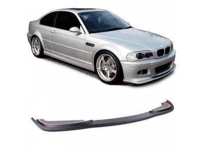 Сплиттер для переднего бампера от Carparts на BMW 3 E46 Coupe / Cabrio