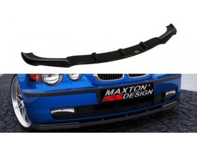 Накладка на передний бампер от Maxton Design для BMW 3 E46 Compact