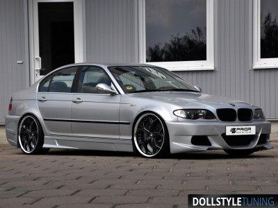 Комплект обвеса в стиле Prior-Design Exclusive на BMW 3 E46 (реплика)