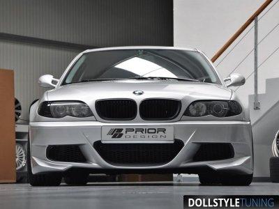 Бампер передний Prior-Design Exclusive на BMW 3 E46 (реплика)