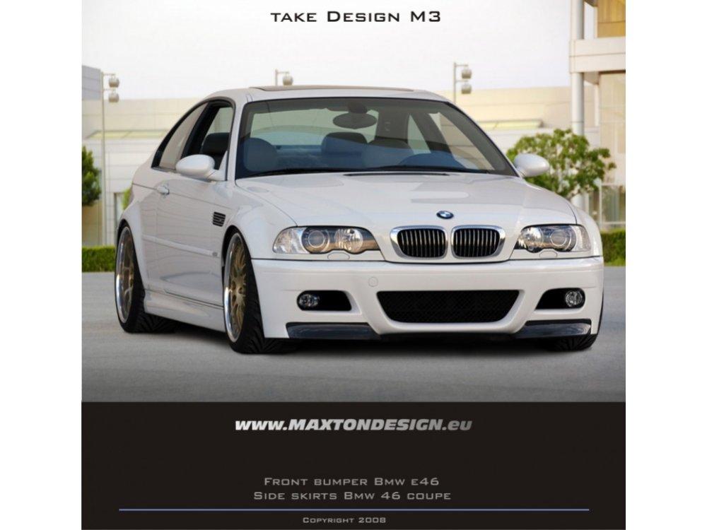 Бампер передний M3 Look от Maxton Design на BMW 3 E46 Coupe / Cabrio