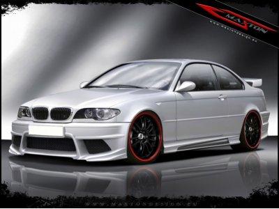 Бампер передний Generation V Look от Maxton Design на BMW 3 E46 Coupe / Cabrio