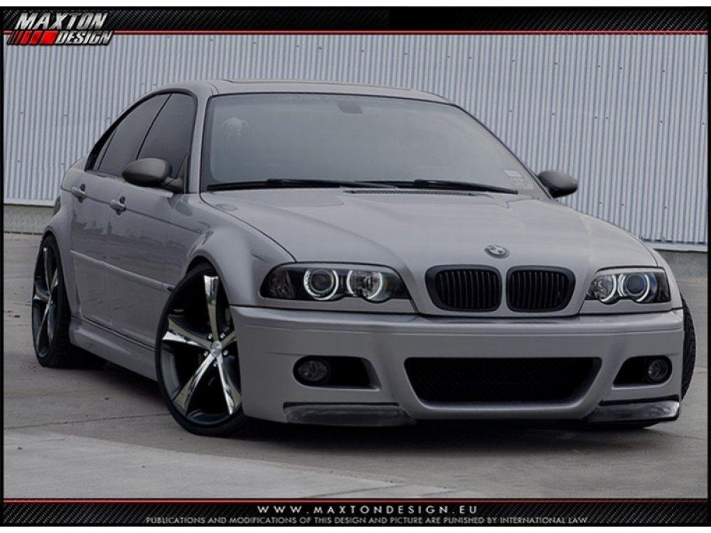 Бампер передний M3 Look от Maxton Design на BMW 3 E46 Sedan / Touring