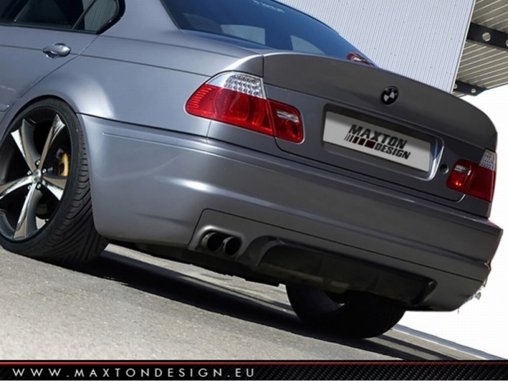Спойлер на крышку багажника M3 CSL Style от Maxton Design для BMW 3 E46 Sedan