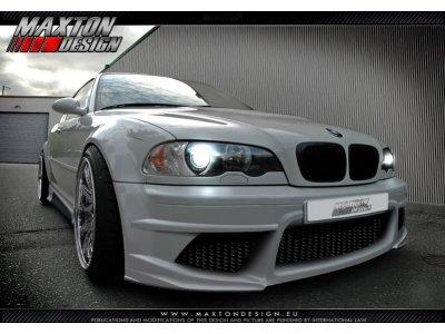 Бампер передний Generation V Look от Maxton Design на BMW 3 E46 Sedan / Touring