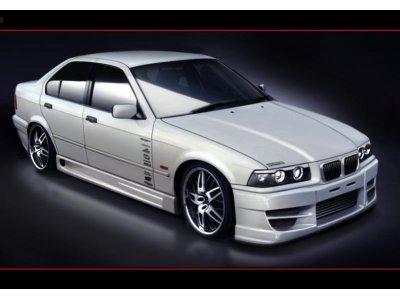 Накладки на пороги GTN Style от Maxton Design для BMW 3 E36