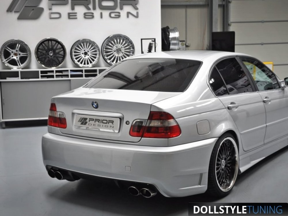 Бампер задний Prior-Design Exclusive на BMW 3 E46 (реплика)