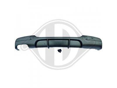Накладка диффузор на задний бампер M-Performance Look Var2 для BMW 3 E90 / E91