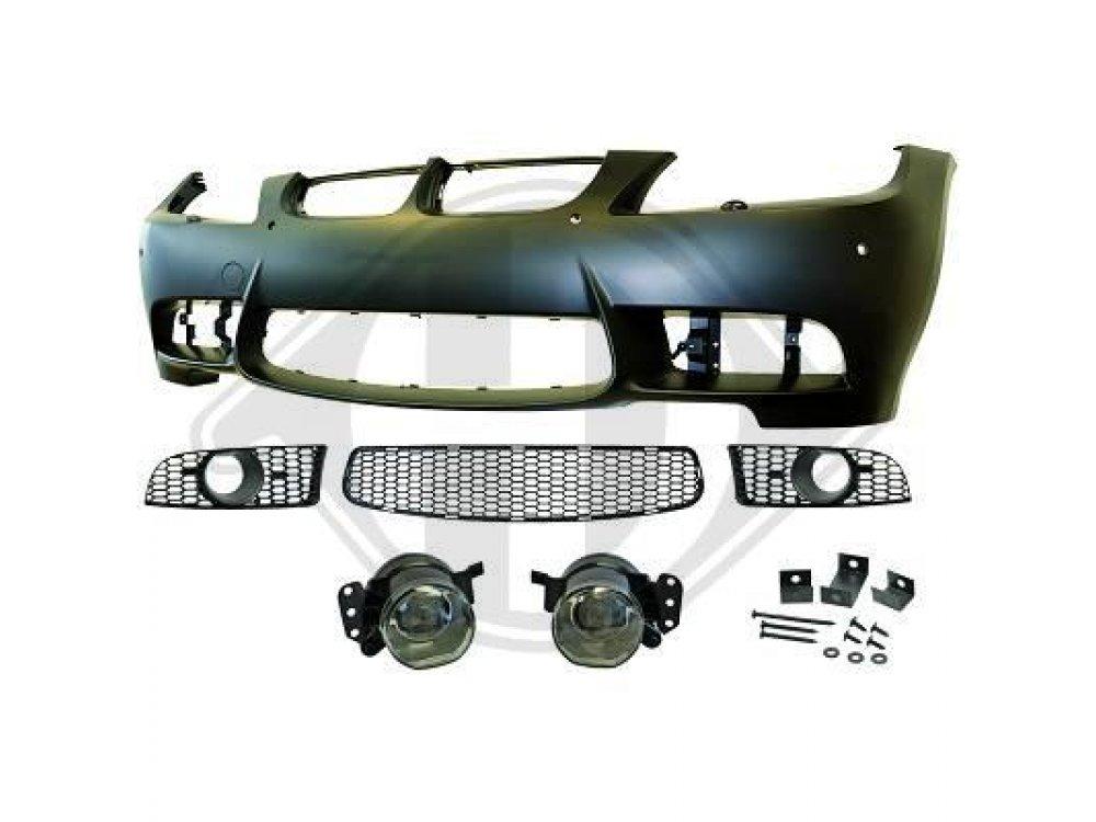 Бампер передний в стиле M3 для BMW 3 E90 / E91