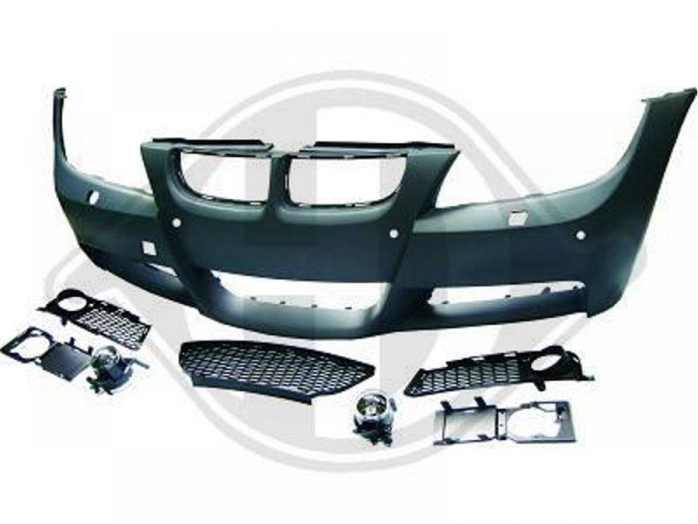 Бампер передний стиль M-Tech для BMW 3 E90 / E91