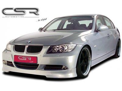 Накладка на передний бампер от CSR Automotive на BMW 3 E90 Limousine / E91 Touring