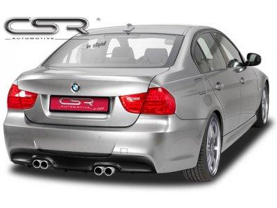 Накладка на задний бампер от CSR на BMW 3 E90 Limousine / E91 Touring