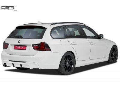 Накладка на задний бампер от CSR на BMW 3 E90 / E91