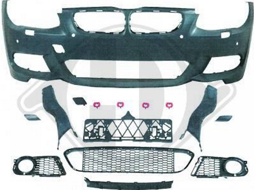 Бампер передний стиль M-Tech для BMW 3 E92 / E93 рестайл