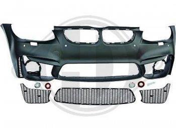 Бампер передний в стиле M3 EVO4 для BMW 3 E92 / E93 рестайл
