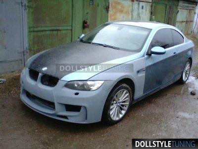 Крылья передние Prior-Design PD-M1 на BMW 3 E92 / E93 дорестайл (реплика)