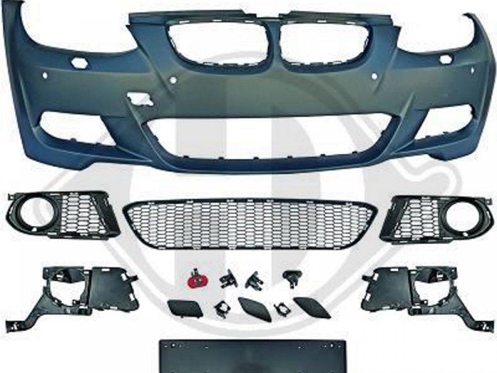 Бампер передний в стиле M-Tech от HD для BMW 3 E92 / E93