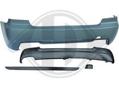 Бампер задний в стиле M-Tech для BMW 3 E92